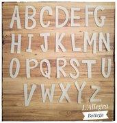 Alfabeto in feltro o Gomma Crepla