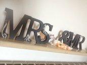Lettere decorative lettering