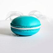 Collana lunga con Macaron Tiffany