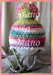 Cappello aviatore bambina - colori vari