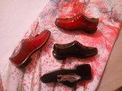 Spille scarpe  e rossetto