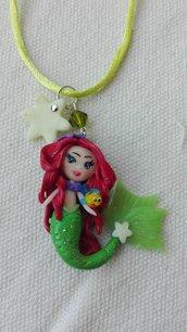 Collana in fimo Ariel