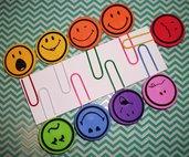 Set di Clips Decorative - Accessori per Scrapbooking e Planner - Emotional Smile Version^^