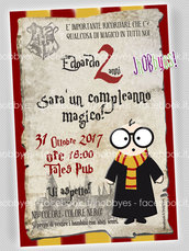 Invito digitale HARRY POTTER