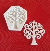 """Stampo in silicone NON ALIMENTARE """"albero della vita """" cm.9"""