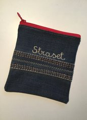 Piccola pochette in jeans