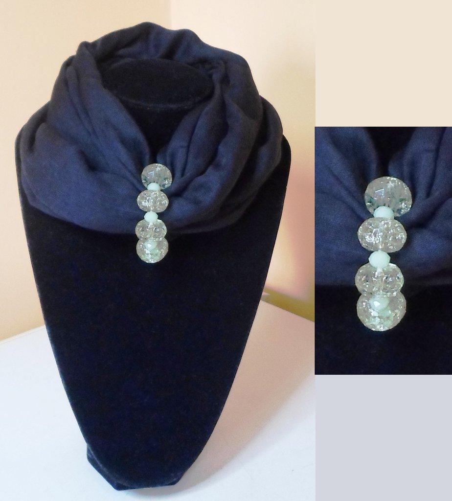 nuovo di zecca bde1f 136d5 Sciarpa gioiello (6)
