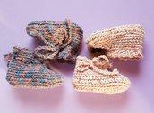 Babbucce di pura lana o misto lana