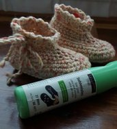 Babbucce antiscivolo di lana