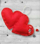 """Cuoricini """"you & me"""", idee regalo per San Valentino."""