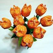 Tulipani in stoffa