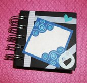 Idea Regalo! Mini Album Block Notes PortaAppunti - SweetFlowers&Butterfly Notes in Scrap^^