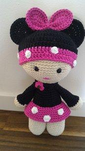 Bambolina amigurumi Minnie