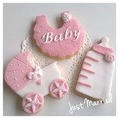 Ricordo nascita,  biscotti decorati per nascita o battesimo, segnaposto,  nascita,