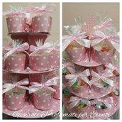 Scatolina portaconfetti cupcake