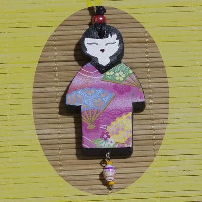 Ciondolo con Geisha
