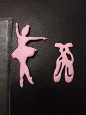 fustellati ballerina scarpette danza