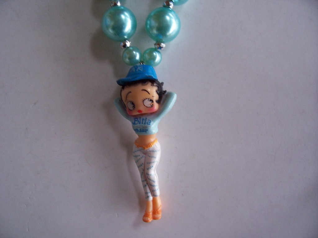 Collana con betty boop