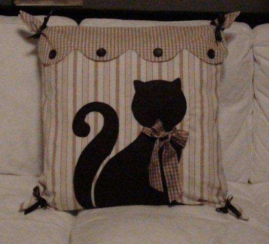 Cuscino gatto