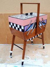 Contenitore cassettiera tavolino