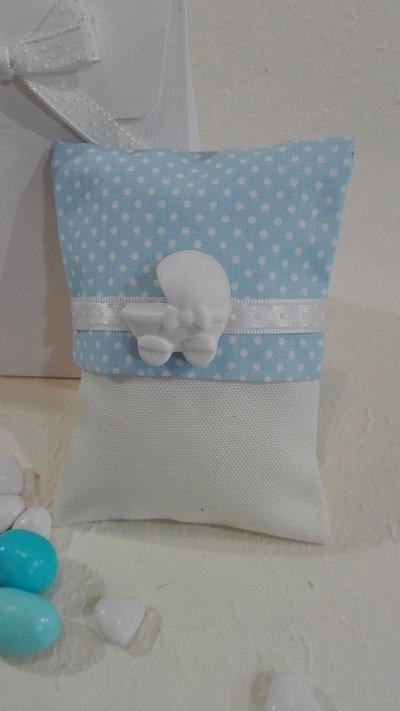 5 sacchettini confetti POIS2 a/r
