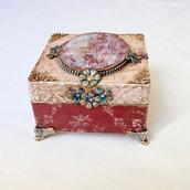 Cofanetto in legno Portagioie Regalo Idea regalo Regalo per compleanno Regalo per mamma