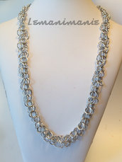 """#Collana# chainmail  #forchètte"""""""