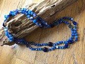 Collana di lapis lazuli