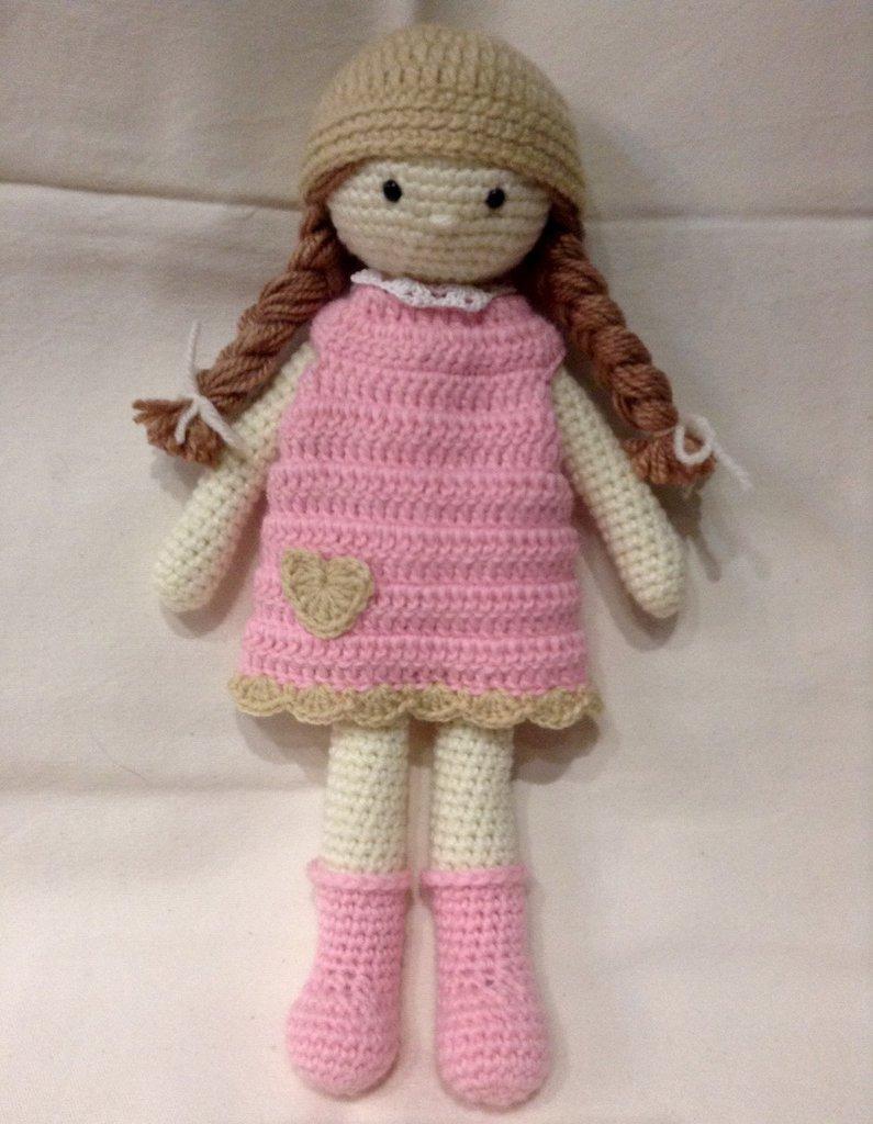 Bambola Ad Uncinetto Per La Casa E Per Te Bambole E Pupazzi