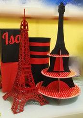 torre Eiffel in legno ladybug