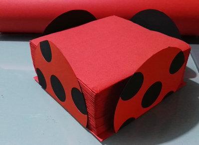 porta tovaglioli ladybug