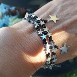 braccialetto con stelline