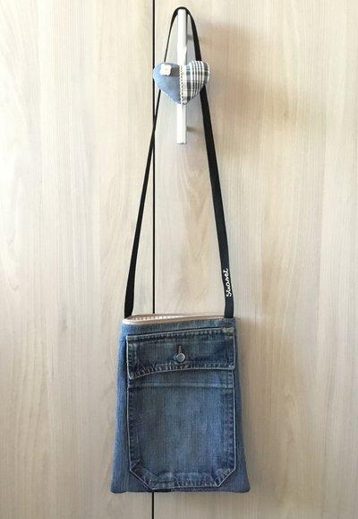 Borsello in jeans