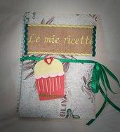 Quaderno ricettario handmade