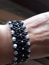 braccialetto con fiorellini