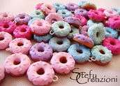 Donuts Charms Fimo