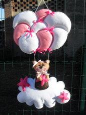 Fiocco nascita...volate volate palloncini
