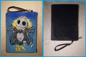 "Pochette o borsetta da polso in ecopelle nera ""Jack"" da Nightmare Before Christmas"