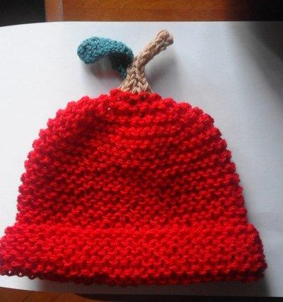 cappello bambino mela