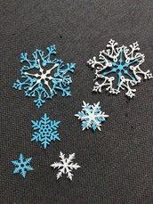fustellati fiocchi di neve