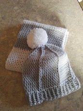 Set cappello + sciarpa donna
