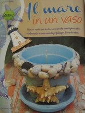 VASO MARINO CON CANDELA