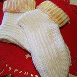 Babbucce scarpe lana uncinetto fatto a mano idea regalo shopping