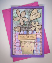 "Card ""Just for you"""