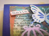 "Card ""Smile and fly"""