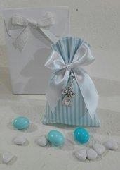 Confezione da 5 sacchetti medi piquet azzurro PIQ/2 azzurro