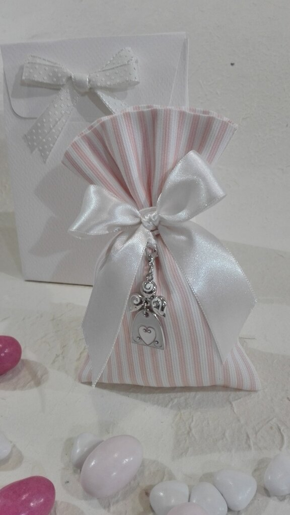 Confezione da 5 sacchetti medi piquet rosa PIQ/2 rosa