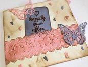 Biglietto d'auguri Tema Farfalla Amore