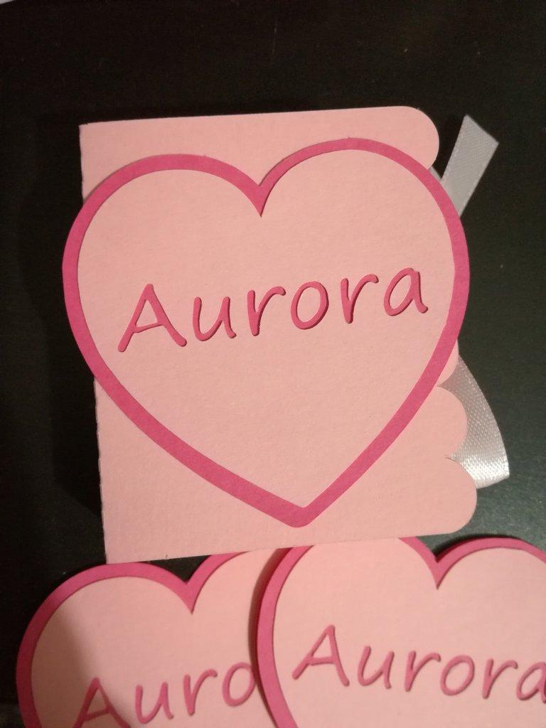 Scatolina scatoline portaconfetti segnaposto compleanno nascita nome personalizzabile cuore