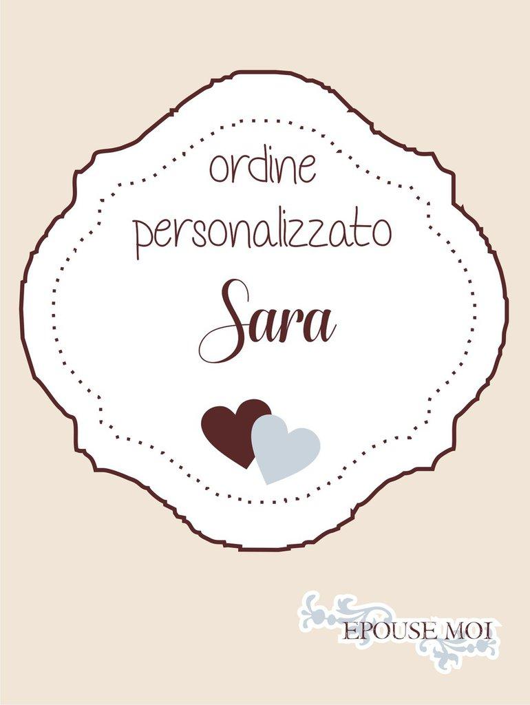 inserzione riservata per Sara
